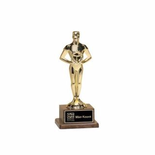 """Classic Achiever Trophy 7 1/4""""   Engraving Included"""
