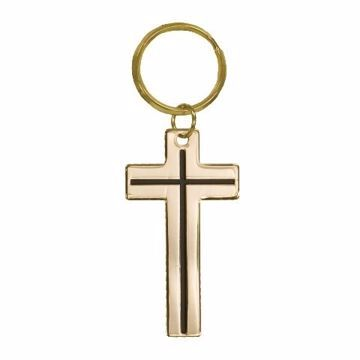 Cross Keychain | Engraving Included