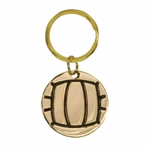 Volleyball Keychain | Engraving Included