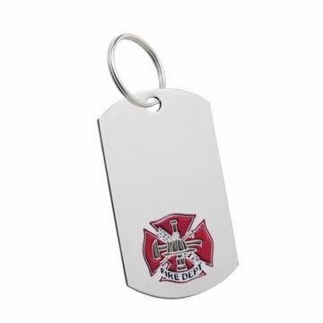 Fire Key Tag | Engraving Included