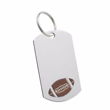 Football Key Tag | Engraving Included