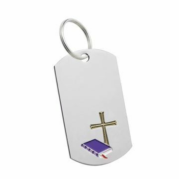 Religion Key Tag   Engraving Included