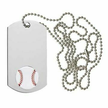 Baseball Dog Tag | Engraving Included