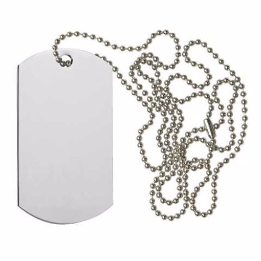 Blank Dog Tag | Engraving Included