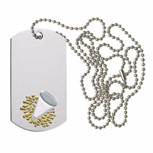 Cheerleading Dog Tag | Engraving Included