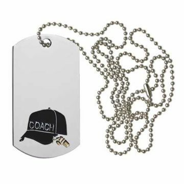 Coach Dog Tag | Engraving Included