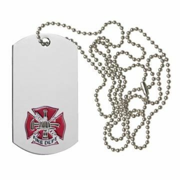 Firefighting Dog Tag | Engraving Included