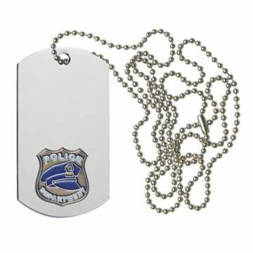 Police Dog Tag | Engraving Included