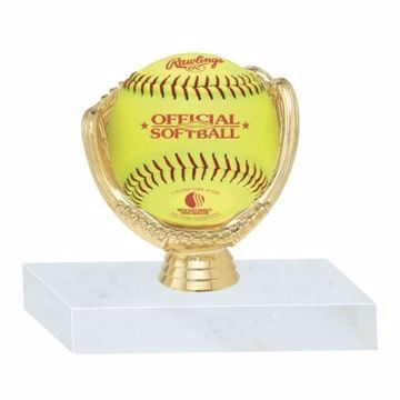 Softball Holder Trophy | Engraving Included
