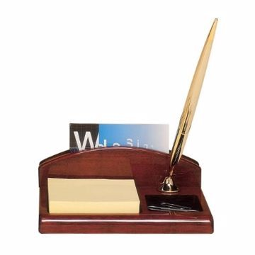 Desk Organizer Piano Finish | Engraving Included