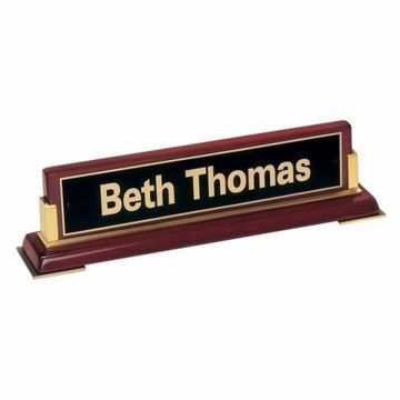 Nameplate Piano Finish | Engraving Included