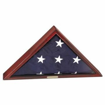 Flag Case Burial | Engraving Included
