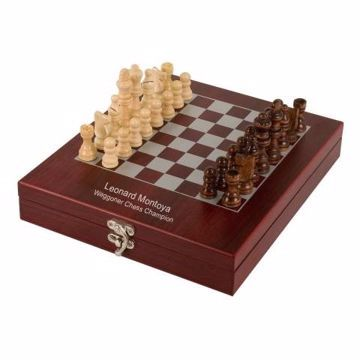 Rosewood Chess Set | Engraving Included