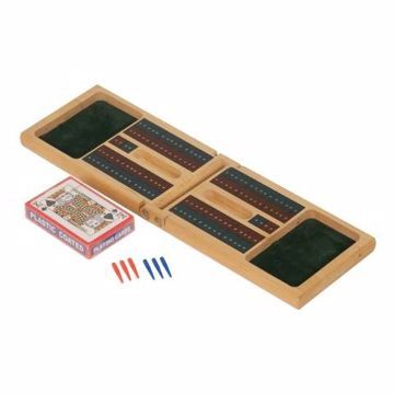 Wood Cribbage Set | Engraving Included