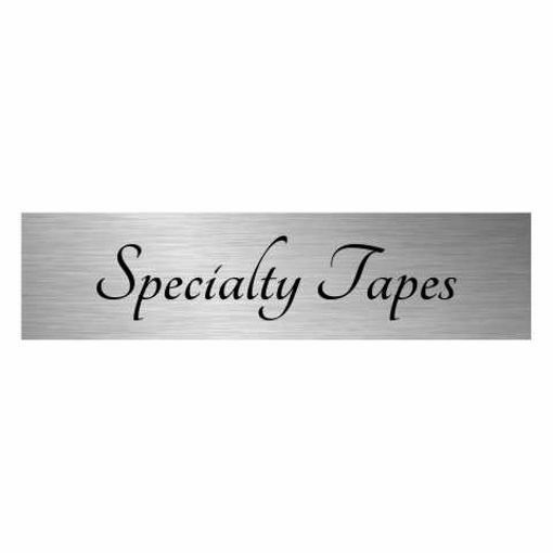 3 x 12 Laser Engraved Stainless Steel Plate