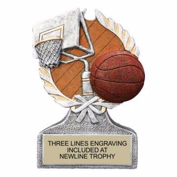Centurion Resin Basketball Trophy | Engraving Included