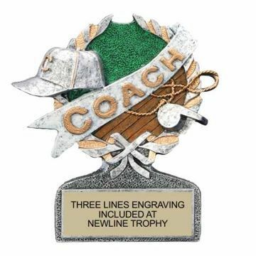 Centurion Resin Coach Trophy   Engraving Included