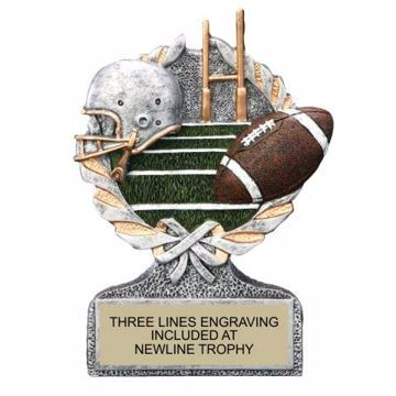 Centurion Resin Football Trophy | Engraving Included