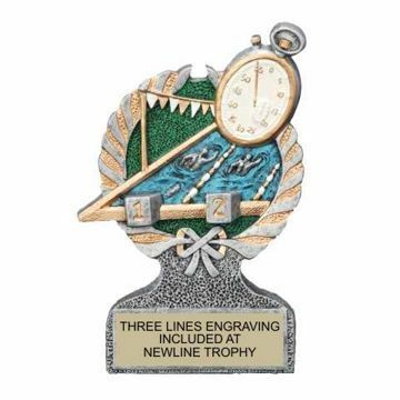 Centurion Resin Swimming Trophy   Engraving Included