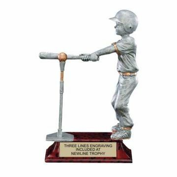 Elite Resin T-Ball Trophy Male | Engraving Included