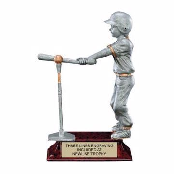 Elite Resin T-Ball Trophy Female | Engraving Included