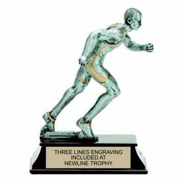 Elite Resin Track Trophy Male | Engraving Included