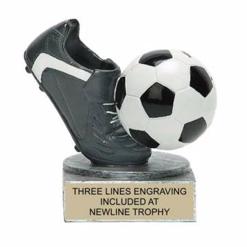 Color Tek Resin Soccer Trophy | Engraving Included