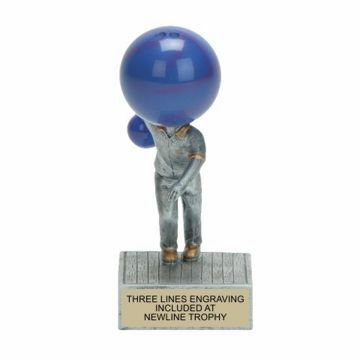 Bowling Bobble Trophy | Engraving Included