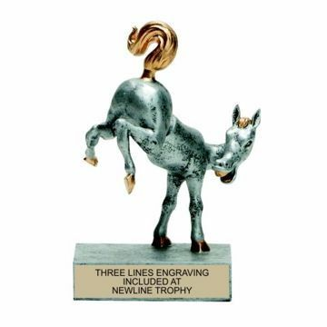 Horses Ass Bobble Trophy | Engraving Included