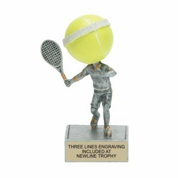 Tennis Bobble Trophy | Engraving Included
