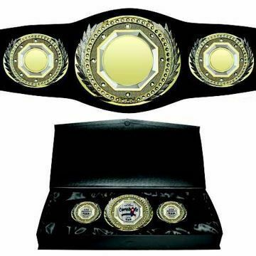 Custom Presidential Championship Award Belt | By NewlineTrophy.com