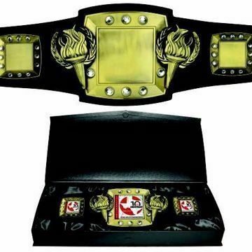 Championship Victory Award Belt | By NewlineTrophy.com