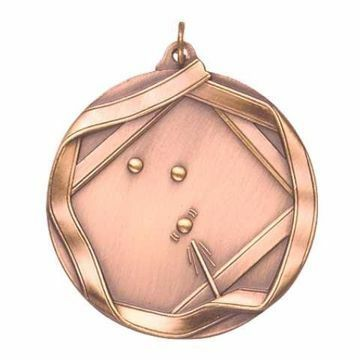 "MS635 2 1/4"" Die Cast Billiards Medallion 