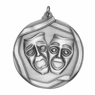 "MS656 2 1/4"" Die Cast Drama Medallion 