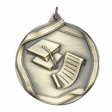 "MS662 2 1/4"" Die Cast Scholastic Medallion 