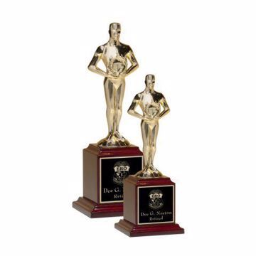 Achiever Trophy Metal | 2 Sizes Available | Engraving Included