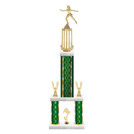 "26"" Multi-Tier Ice Skating 