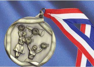 Picture for category Cheerleading Medals