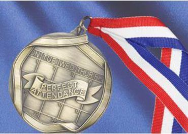 Picture for category Perfect Attendance Medals