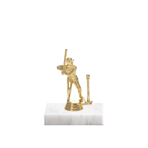 """5"""" T-Ball Figure on Marble Base Trophy"""