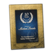 Azure Acrylic Art Award Plaque with easel back for hanging or standing