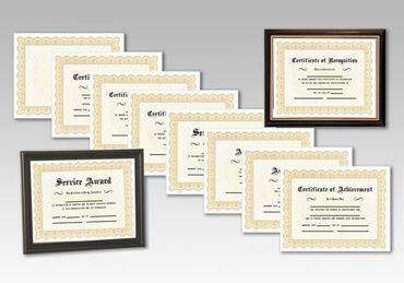 Picture for category Award Certificates