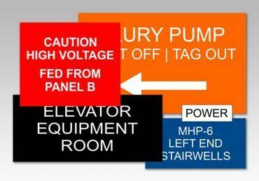 Picture for category Electrical Panel Tags