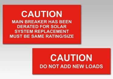 Picture for category Caution Solar Panel Tags