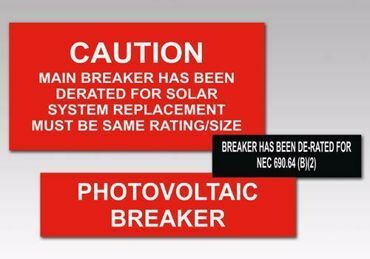 Picture for category Breaker Solar Tags