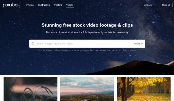 Pixabay free stock videos