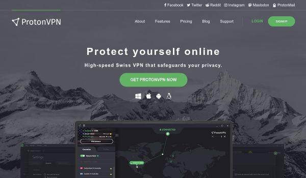 Protonvpn free vpn