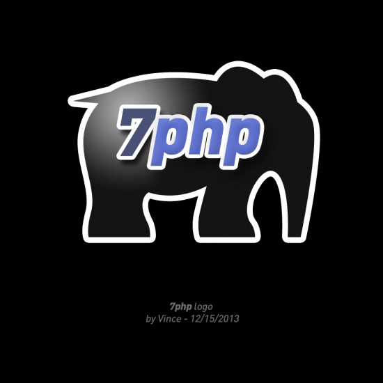 7PHP Logo v2 - Designed by Vincent Pontier