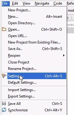 Files > Settings > Version Control > Subversion