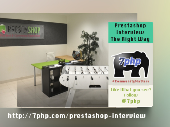 Prestashop - The 7PHP interview